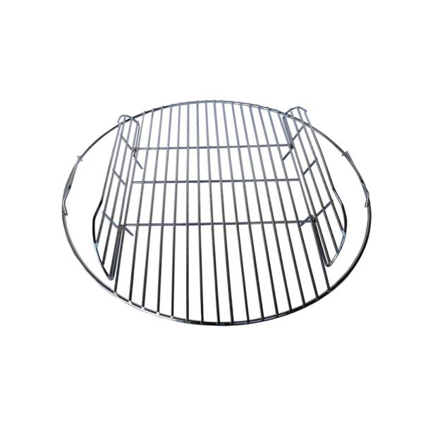 135/052 - Kettle Braai Grid Hinged [57cm Chrome]